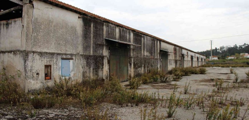 Armazém + Terreno junto à Estação Ferroviária em Soure
